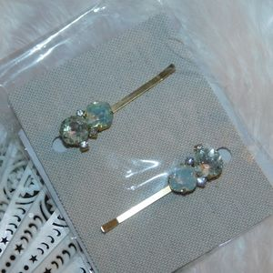 Anthropologie BHLDN Raine Bobby Pin Set